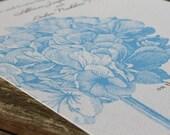 Hydrangeas Flower Wedding Invitation or Save the Date