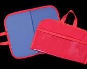 Mini Felt / Flannel Board with handles and storage 14 X16 RED