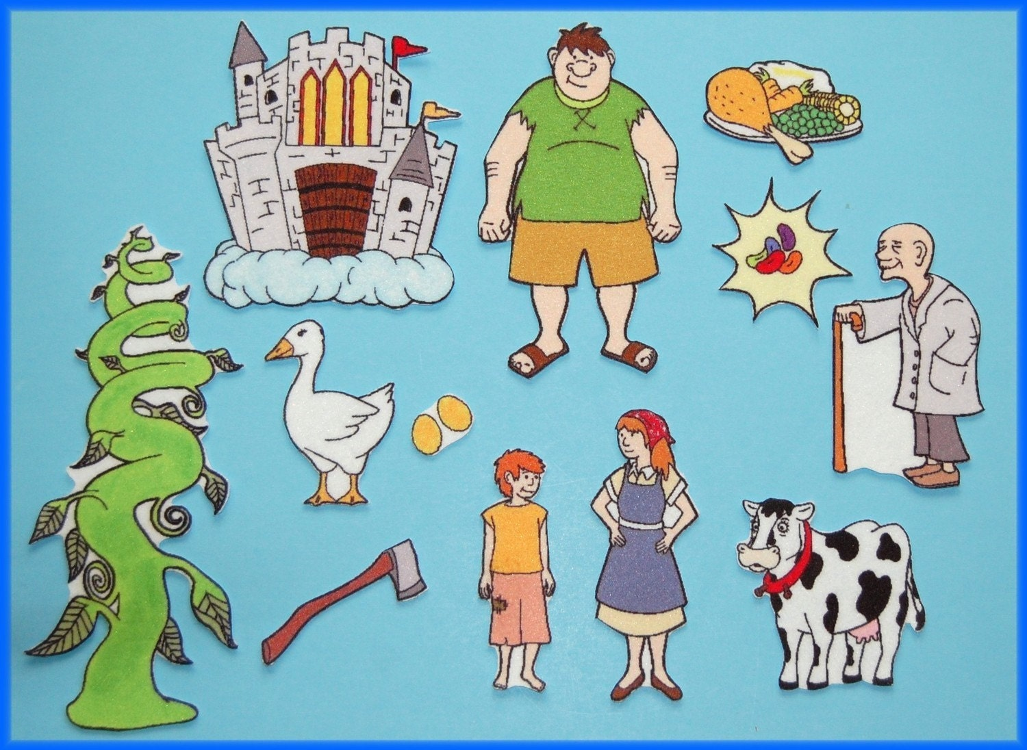 Jack and the Beanstalk Felt / Flannel Board Set