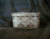Handwoven Small Square Basket
