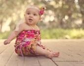 Shabby Baby Ruffle Petti Romper Gold baby girl toddler photo prop by Peepz n Pretzelz