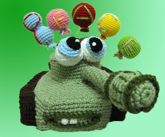 Amigurumi Pattern - The Tank.