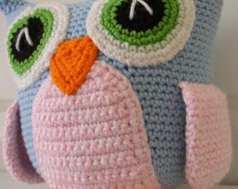 Owl Art Doll/Plush