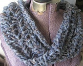 Tunisian Crochet Mobius Loop Scarf Pattern - pdf