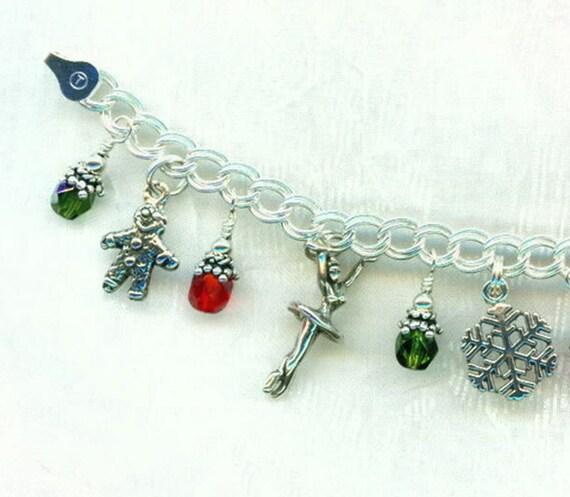 Ballet Charm Bracelet: Nutcracker Ballet Charm Bracelet Sterling Silver Girls 6