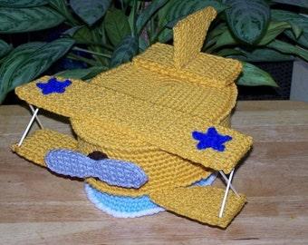 Little Pilot Treasure Cake PDF Crochet Pattern