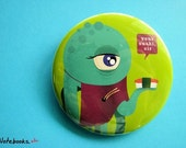 Monster Sushi 2.25 inch Button Pin