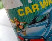 Vintage 1970's Turtle Wax : retro, garage, car care