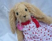 Bunny Rabbit,Easter Bunny,Softie,Teddybear,Teddy fabric,Cuddly Toy,soft toy,stuffed animal,plush toy,