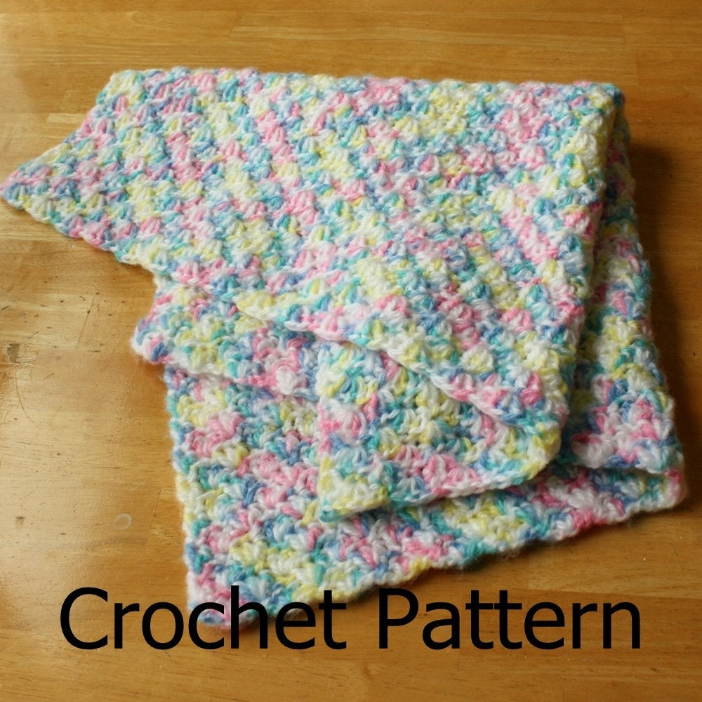 Easy crochet baby blanket easy crochet pattern crochet baby zoom bankloansurffo Images