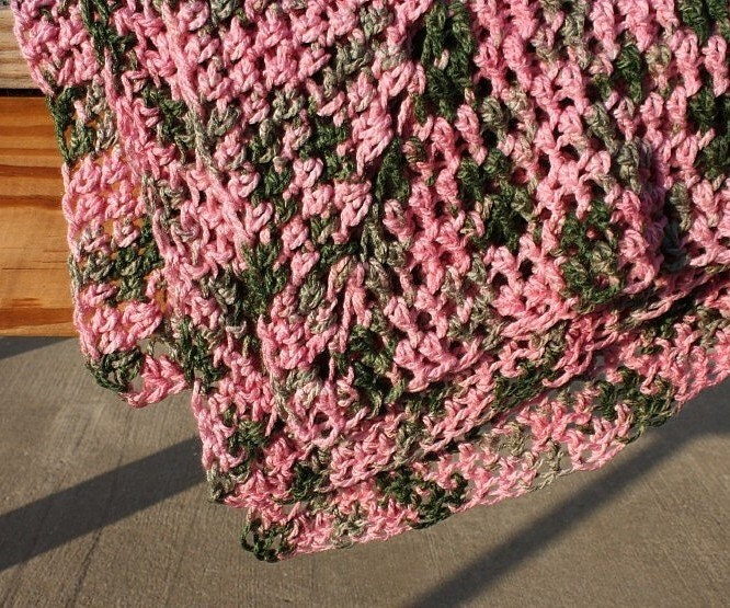 Pink Camo Baby Bedding Pink Camo Baby Blanket Crochet Baby