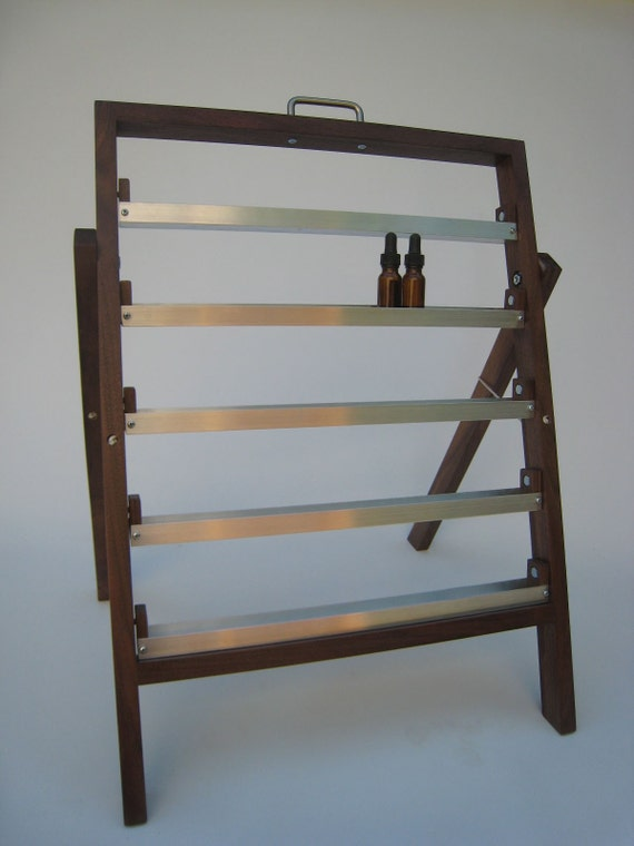 Traveling Perfumer's Organ for Essential Oils, Perfumes, Etc. for shows