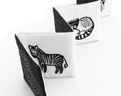 Wee Gallery Black and White Animals - Accordion Style Soft Book