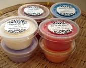 8 Pack Soy Tart Melts 2 ounces - Pick Your Own Scents