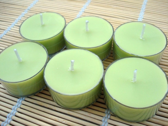 Pearberry Soy Tea Lights - Set of 6
