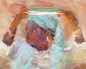 Sale - Hopeful - 8 x 10 inch Giclee Print, orig. 39, now 25