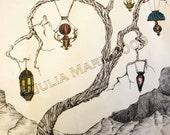 Tree of Light-Original on paper