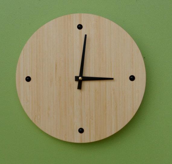 Eco-Friendly Bamboo Wall Clock