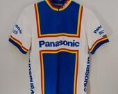 Vintage PANASONIC BICYCLES Louis Garneau jersey sz. medium Canada