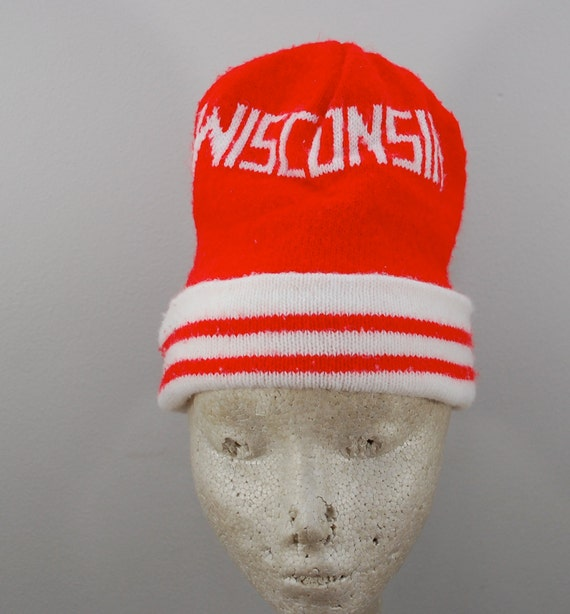Vintage WISCONSIN BADGERS Winter Hat