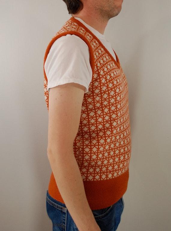 Vintage JC Penneys TOWNCRAFT Sweater Vest Mens XL