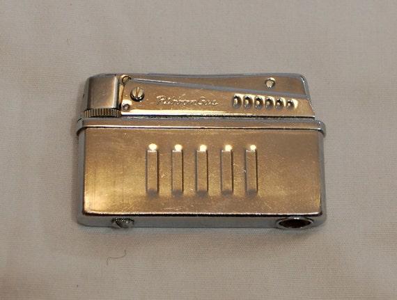 Vintage RIBBON GAS Butane Squeeze Lighter Mad Men