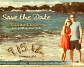 CUSTOM Save The Date reserved for Rebecca G