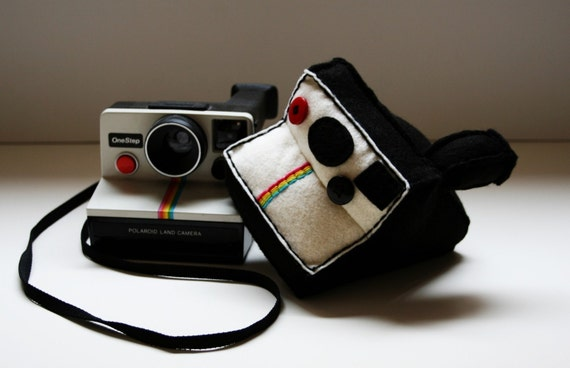 Polaroid Land Camera Plush - Reserved For  jilly1willy