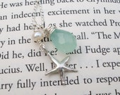 Chalcedony Beach Necklace