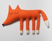 Large Monty the Fox Lambswool Plush - Made to order