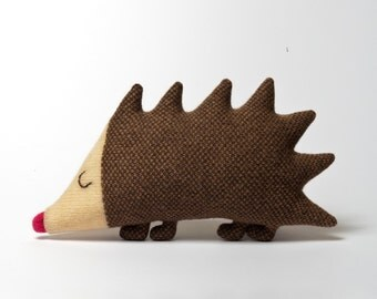 Sydney Hedgehog Lambswool Plush Toy - Made to order