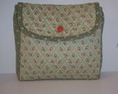 Quilted Wheelchair Bag to hang on armrest