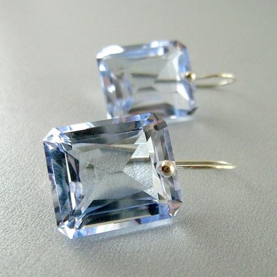 Sky Blue Topaz Luxe Sterling Silver Earrings