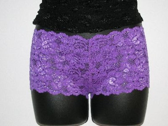 Stretch Lace Boy Shorts