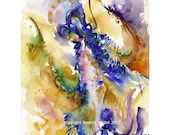 Angel of Peace - Fine art (giclee) limited edition print of my original painting