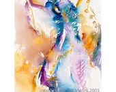 Angel of Passion - fine art limited edition (giclee) print of my original painting