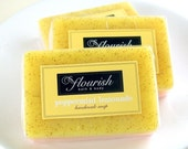 Peppermint Lemonade Shea Butter and Apricot Seed Soap
