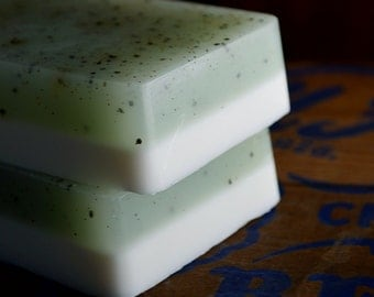Tonic Soap, Handmade Shea Butter Soap, Juniper and Lime