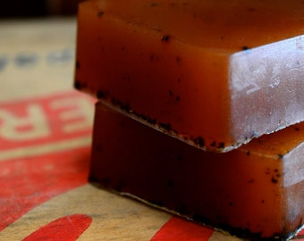 Tobacco Honey Soap, Pipe Tobacco, Golden Honey, Handmade Glycerin Soap