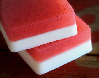 Grapefruit Ginger Soap with Shea Butter and Apricot Seeds