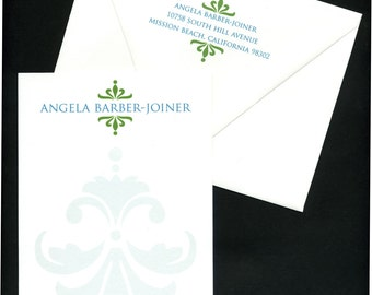 Personalized Stationery - Set of 20