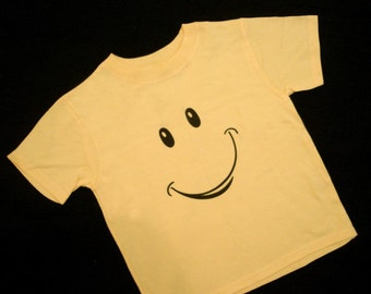 Happyface Yellow Shirt - 18 months (Baby) featured in Parents Magazine