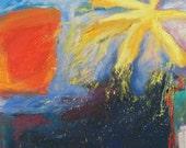 Pollen Season GICLEE ART PRINT 11 x 17 spring abstract landscape museum exhibit