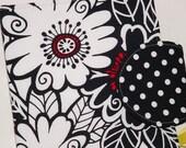 Paperwhite Kindle Cover Nook Cover Kobo Cover - Retro Zinnias eReader Cover