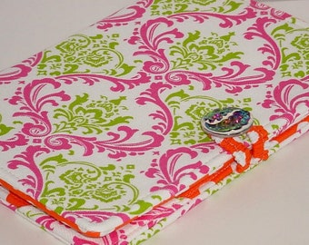 Nook Glow Cover, Kindle Paperwhite Cover, Kindle Fire HD, all sizes, Cotton Candy eReader Cover