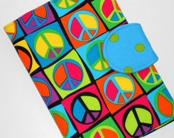 Kindle Cover Nook Cover Kobo Cover - I love the 70's (Peace Sign) Cover - available all size eReaders