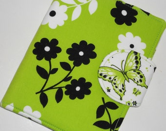 Kindle Fire HD Cover, Kindle Touch Cover, Nook Tablet Cover, Nook Color Cover  - Butterfly eReader Cover