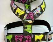 Pugs On Parade  Pet Harness for Pugs One of a Kind Original