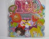 Kamio Japan Sticker Flakes - Fairy Tale World 100 Pieces (43945)