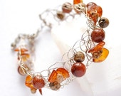 Bracelet - Brown Sugar - by Schneider Gallery